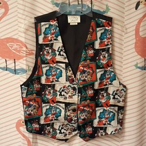 Ugly Holiday Christmas Vest 90s Vintage